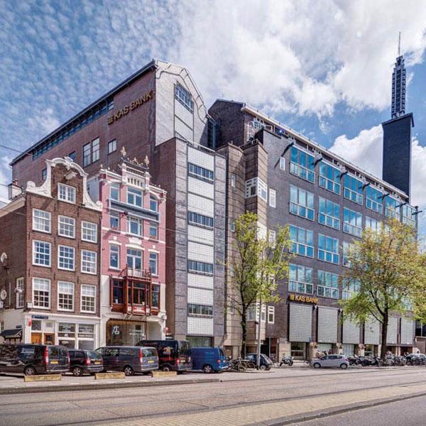 Voormalige Kasbank in Amsterdam krijgt bodemenergiesysteem van GeoComfort