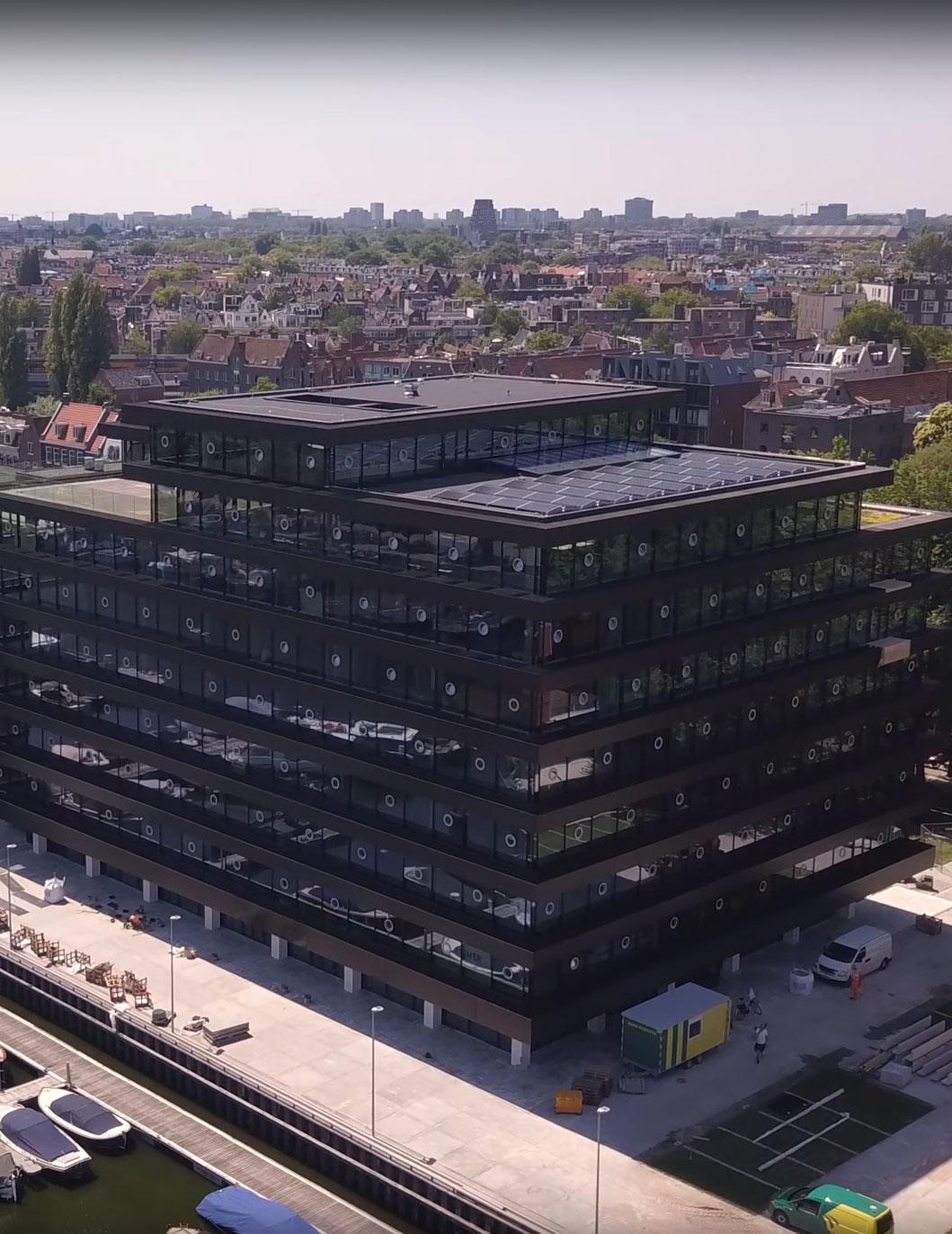 WKO-installatie voor De Walvis, Amsterdam