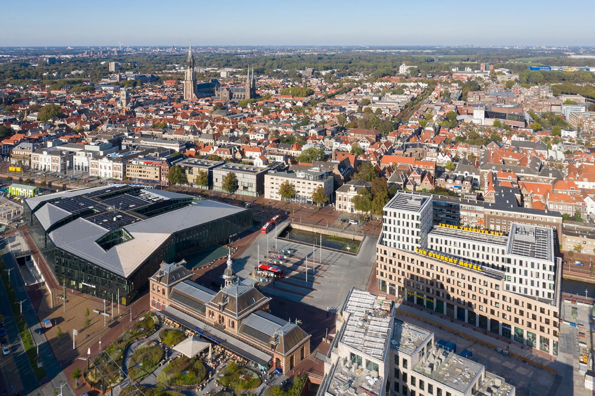 The Student Hotel & Antoni, Delft