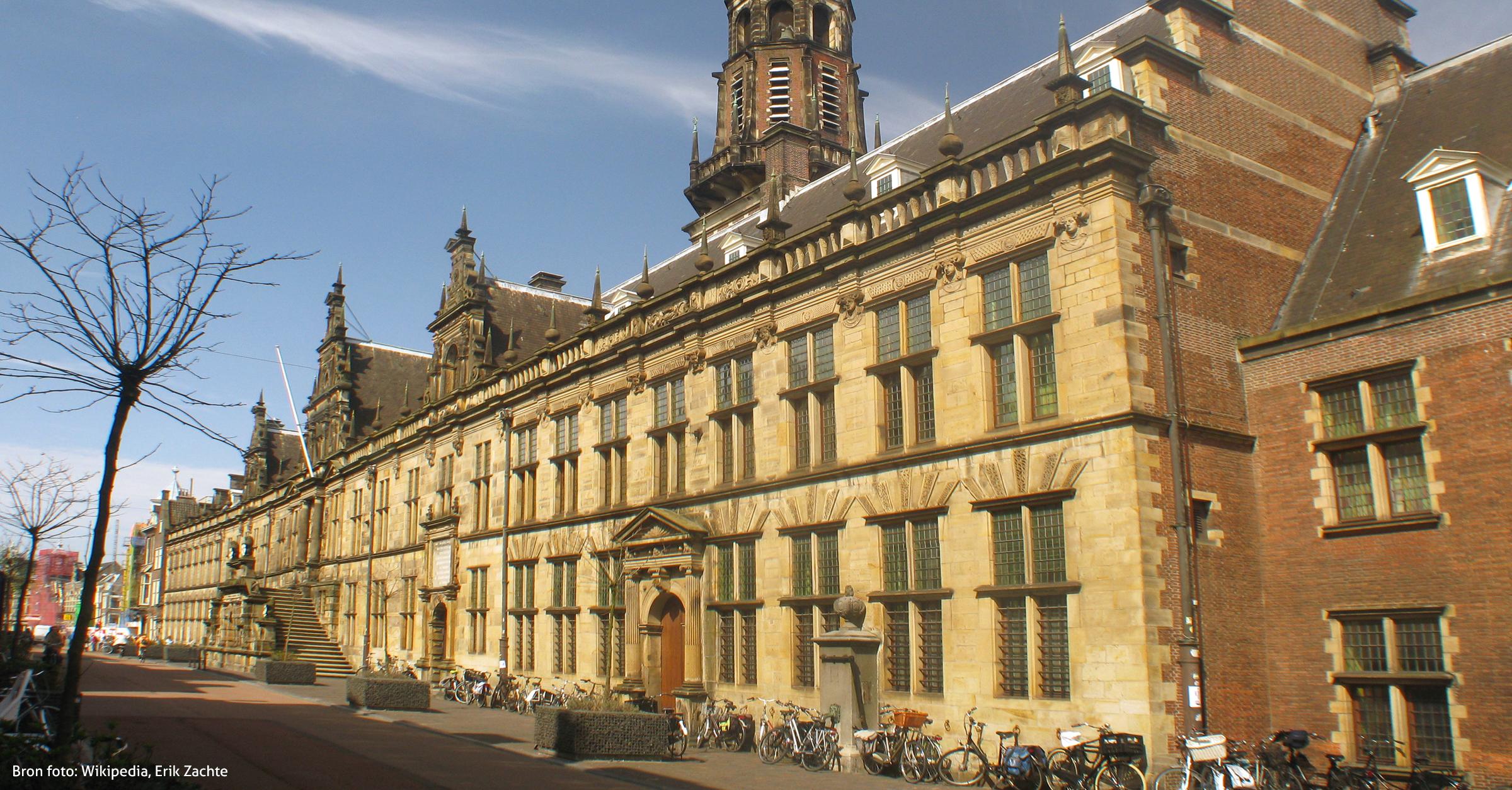 Stadhuis Leiden duurzaam verbouwd